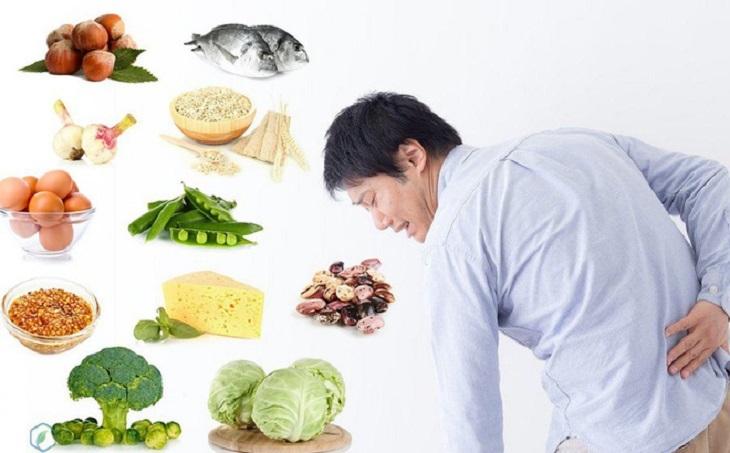 Chế độ dinh dưỡng tốt giúp xoa dịu các cơn đau và hỗ trợ tình trạng thoát vị đĩa đệm nhanh chóng phục hồi