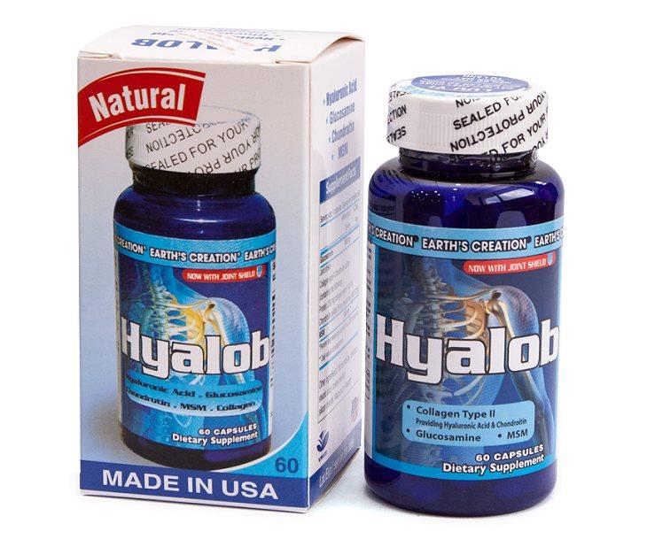 Viên bổ khớp Hyalob chữa thoái hóa cột sống, đốt sống và các khớp hiệu quả