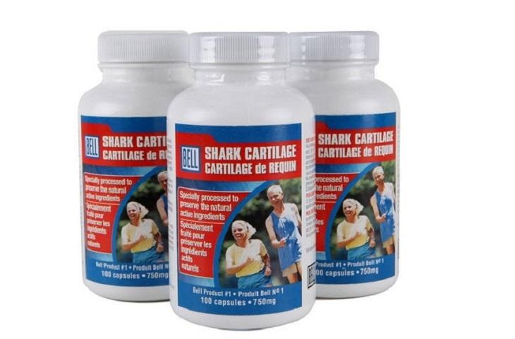 Bell Shark Cartilage được chế xuất từ 100% sụn cá mập nguyên chất giúp chữa thoái hóa cột sống lưng hiệu quả