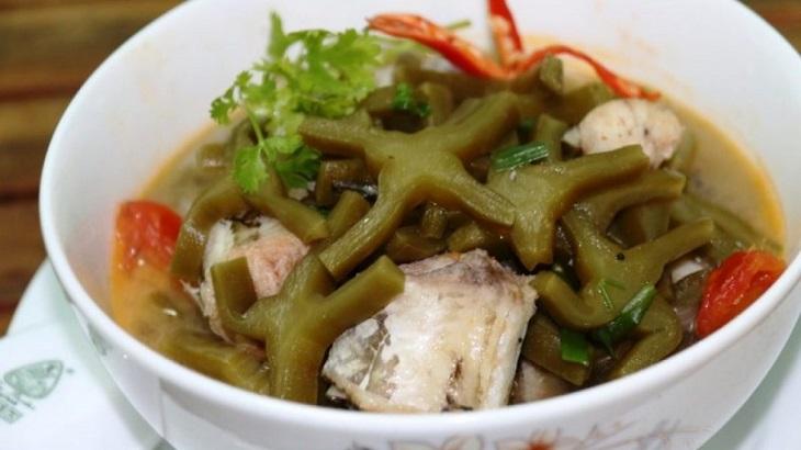 Kết hợp xương rồng tai thỏ và cá lóc vừa tạo được món ăn dinh dưỡng vừa giúp trị thoát vị đĩa đệm hiệu quả