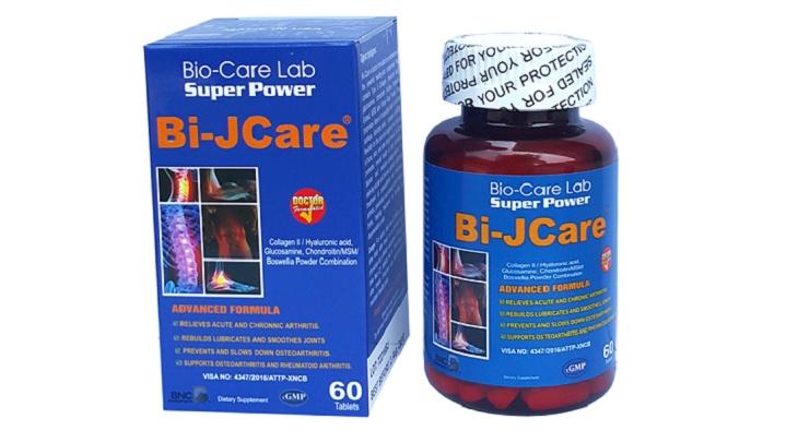 Bi-Jcare giúp giảm cảm giác đau nhức, khó chịu trong thời gian ngắn