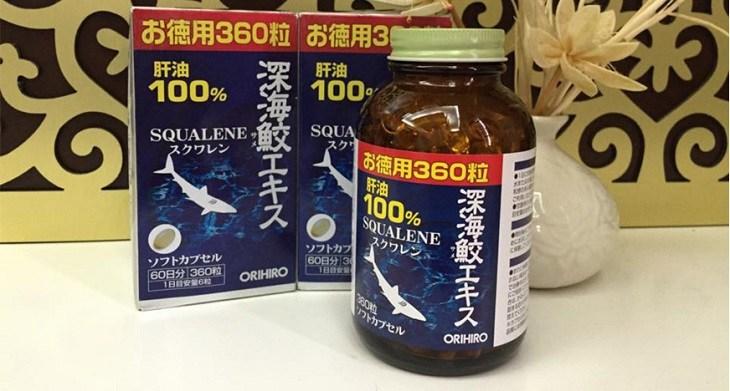 Orihiro Squalene của Nhật Bản được đông đảo người bệnh trên thế giới tin dùng