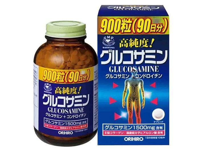 Glucosamine Orihiro giúp bổ sung canxi nuôi dưỡng xương khớp chắc khỏe