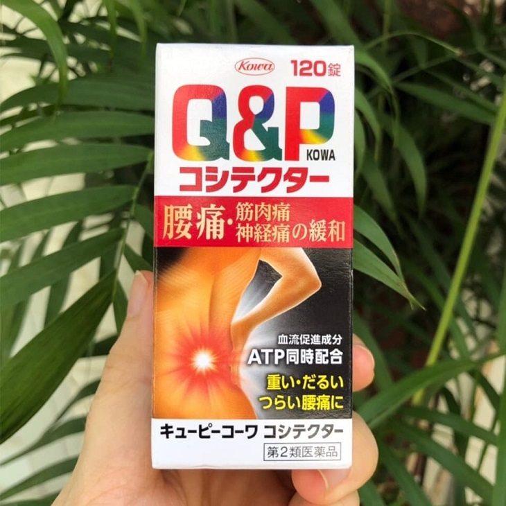 Thuốc chữa thoái hóa cột sống lưng Q&P Kowa được người tiêu dùng Việt Nam tin tưởng lựa chọn