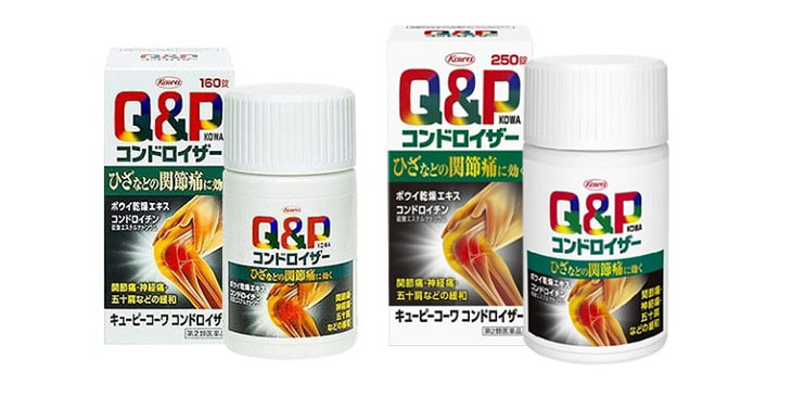 Q&P Kowa là thuốc trị thoái hóa cột sống nổi tiếng của Nhật
