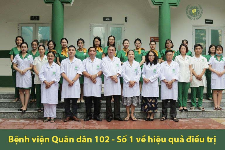 Quân dân 102 là đơn vị tiên phong ứng dụng điều trị viêm da bằng Đông y có biện chứng