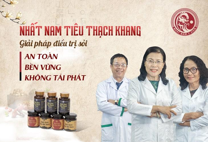 nhất nam tiêu thạch khang, giải pháp tối ưu cho người sỏi mật