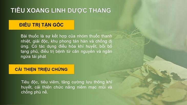 Bài thuốc Tiêu Xoang Linh dược thang