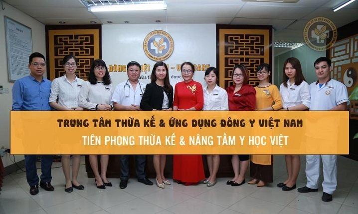 Bệnh viện YHCT Quân dân 102 có tiền thân vững chắc là Trung tâm Thừa kế và Ứng dụng Đông Y Việt Nam