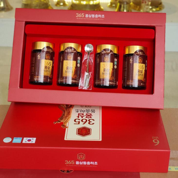 Cao linh chi đông trùng hạ thảo 365 - sản phẩm nổi tiếng tại Hàn Quốc