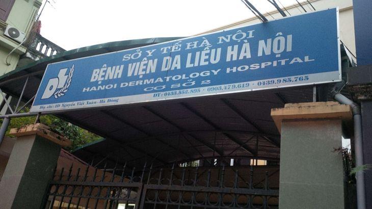 Chữa vảy nến ở bệnh viện Da liễu Hà Nội