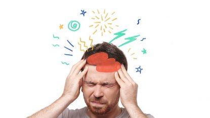 Đau đầu phía trước có thể do bệnh lý viêm xoang trán