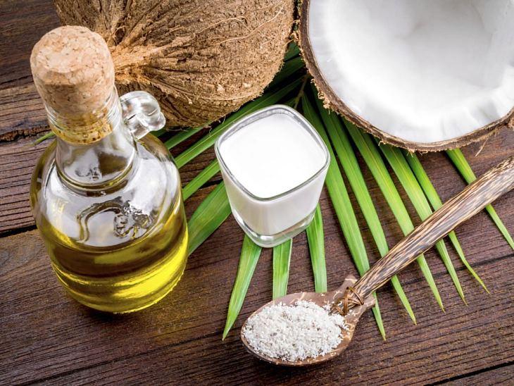 Dầu dừa chứa nhiều dưỡng chất tốt cho làn da
