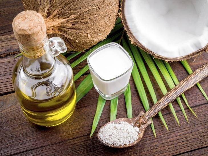 Phụ huynh có thể sử dụng dầu dừa để chữa á sừng