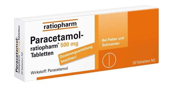 Paracetamol giúp giảm đau nhức xương khớp