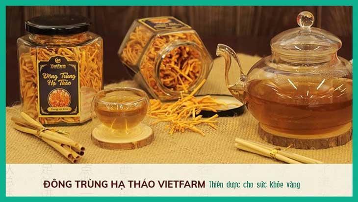 Đông trùng hạ thảo tại Vietfarm đảm bảo nguồn gốc rõ ràng
