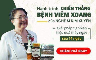 Hành trình chữa khỏi viêm xoang của nghệ sĩ Kim Xuyến