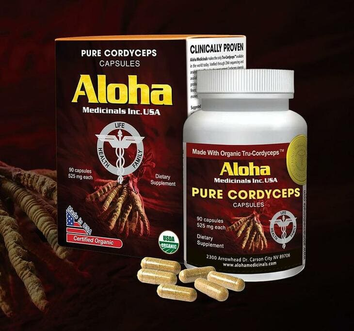 Viên uống đông trùng Aloha là sản phẩm được nhiều người lựa chọn nhất