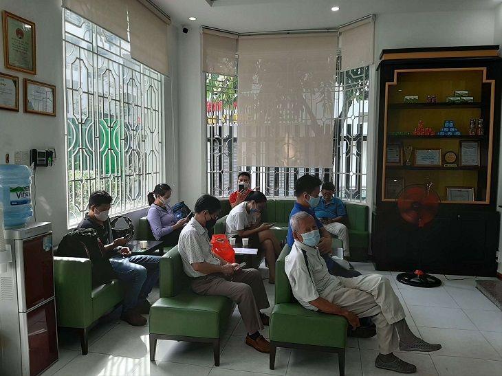 Hình ảnh phóng viên ghi nhận được tại phòng khám Thuốc dân tộc 145 Hoa Lan