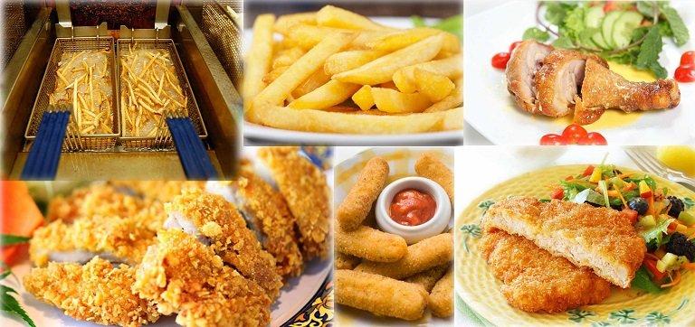 Thực phẩm chứa nhiều dầu mỡ, đồ chiên rán, thực phẩm chế biến sẵn không tốt cho cột sống