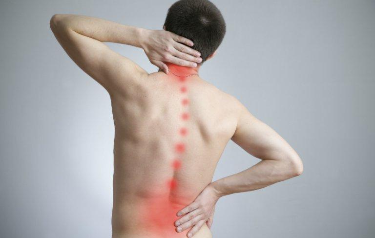 Lệch đĩa đệm gây đau nhức vùng cột sống