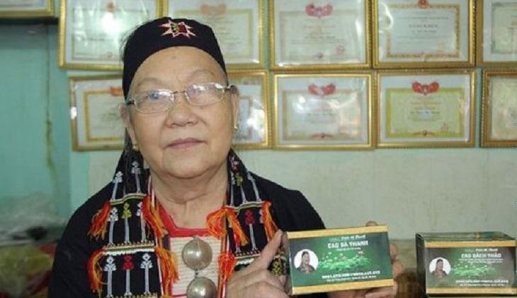 Bà Thanh nổi tiếng với các bài thuốc Nam điều trị một số bệnh lý mãn tính