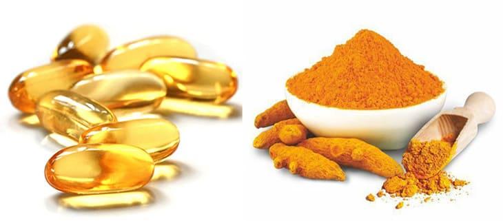 Mặt nạ tinh bột nghệ và vitamin E chăm sóc da mặt và se khít lỗ chân lông