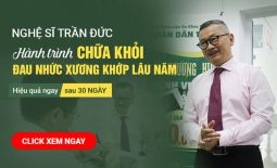 Nghệ sĩ Trần Đức chia sẻ hành trình chữa xương khớp tại Trung tâm Thừa kế và Ứng dụng Đông y Việt Nam