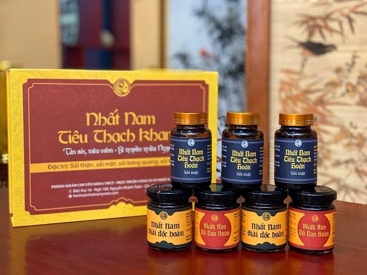 Bài thuốc Nhất Nam Tiêu Thạch Khang đặc trị sỏi mật
