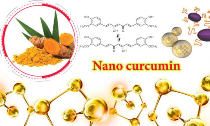 Tinh bột nghệ nano curcumin với kích thước nhỏ dễ dàng đi qua màng sinh học và được hấp thụ nhanh hơn