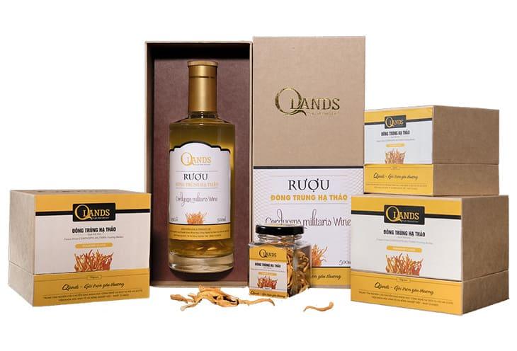 Trùng thảo Qlands sản phẩm được nhiều người tiêu dùng lựa chọn