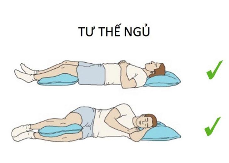 Thay đổi tư thế khi ngủ để xử lý các cơn tê bì tay chân