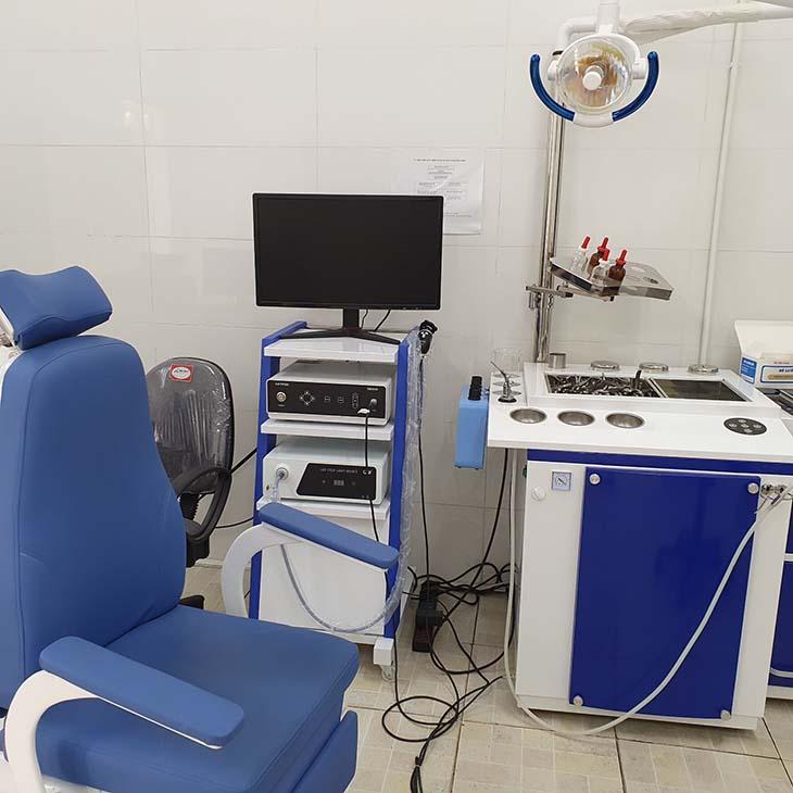 Bệnh viện YHCT Xương khớp Quân dân 102 đầu tư trang thiết bị, máy móc hiện đại