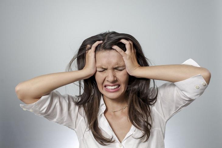 Căng thẳng quá độ cũng làm tăng nguy cơ bị vảy nến
