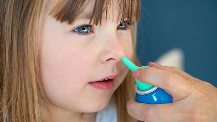 Sử dụng thuốc Tây y trị viêm xoang cho trẻ