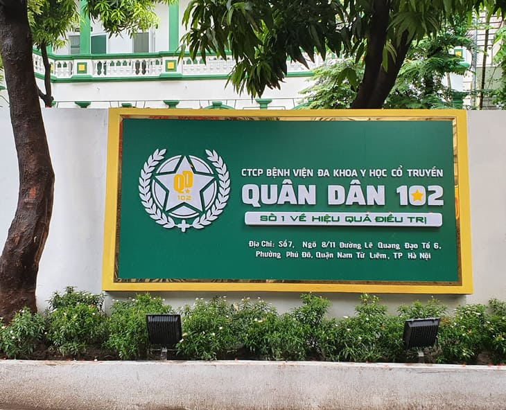 Bệnh viện Quân Dân 102 phát triển từ Trung tâm Thừa kế và Ứng dụng Đông y Việt Nam