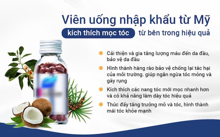 Viên uống thảo dược nhập khẩu từ Mỹ là một trong những phần quan trọng trong phác đồ KIÊNG 3 CHÂN