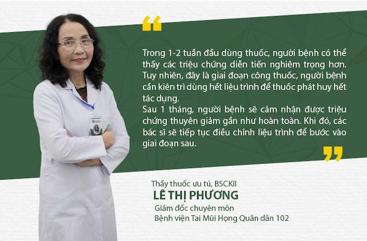 Bác sĩ Lê Phương sẽ trực tiếp thăm khám và điều trị cho bệnh nhân