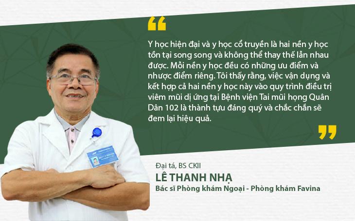 Bác sĩ Lê Thanh Nhạ - Bác sĩ phụ trách phòng khám khoa Ngoại, Bệnh viện Favina