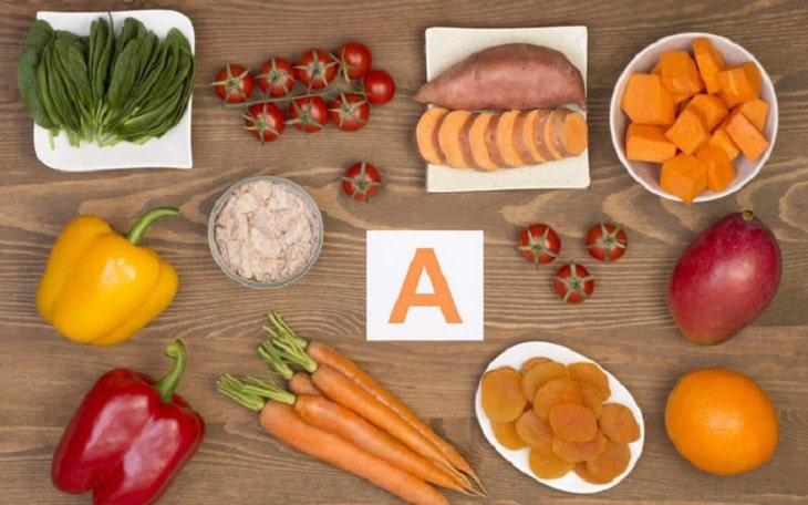 Bổ sung thêm thực phẩm dồi dào vitamin A