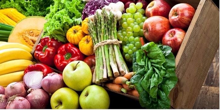 Người bệnh nên bổ sung rau xanh và trái cây