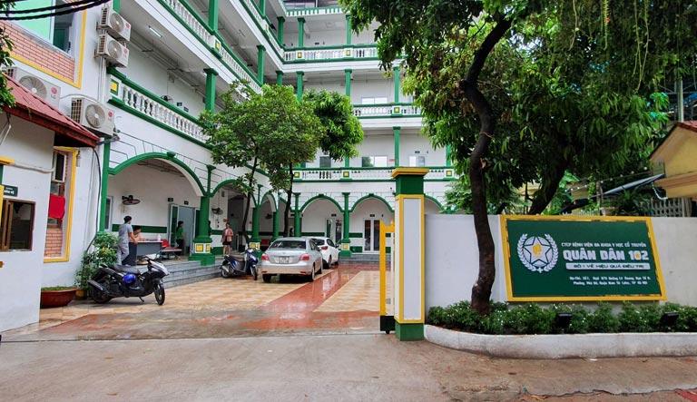 Khuôn viên Bệnh viện Quân Dân 102