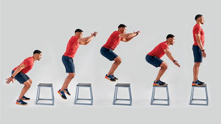Box jump là một cách tập gym giảm cân mang lại kết quả tốt