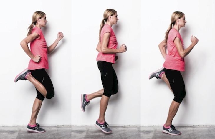 Chạy gót chạm mông là bài tập gym giảm mỡ đơn giản nhưng có hiệu quả