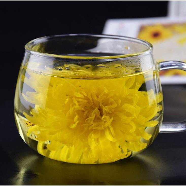 Trà hoa cúc cũng có thể làm giảm chứng ợ hơi khó thở