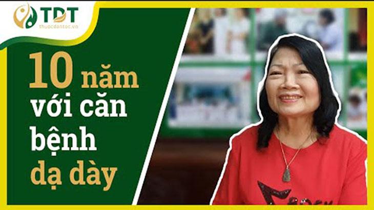 Cô Minh hiền và chia sẻ về cách chữa viêm dạ dày bằng Đông y tại Thuốc dân tộc
