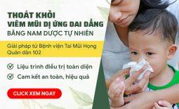 Liệu trình chữa viêm mũi dị ứng cho hiệu quả dứt điểm nhanh chóng, an toàn