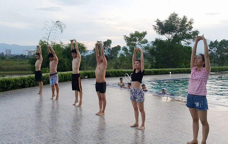 Khởi động không kỹ là điều cấm kỵ khi bơi