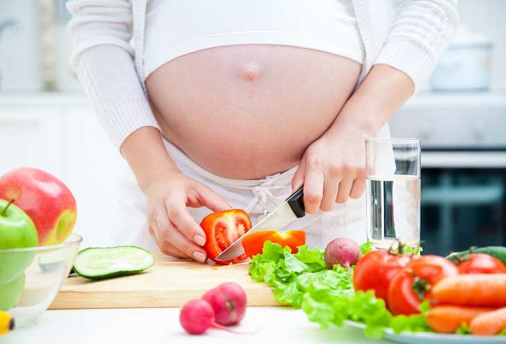 Bị chuột rút khi mang thai là thiếu chất gì - Mẹ bầu cần có chế độ ăn uống chứa nhiều canxi