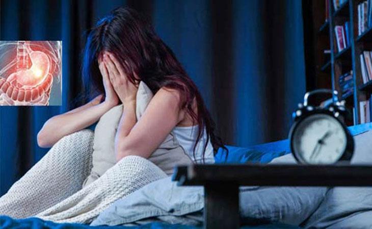 Đau dạ dày về đêm ảnh hưởng đến giấc ngủ và khiến cơ thể người bệnh mệt mỏi